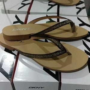 Dkny Small Logo Jacquard Chino Women's Sandals 👡